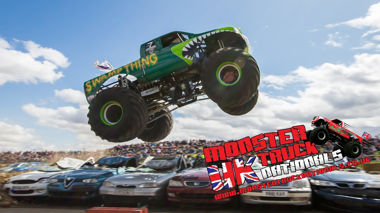 Uk Monster Truck Nationals Highlights At Santa Pod Raceway