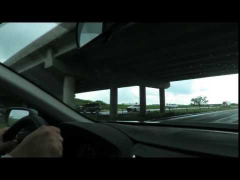 officer blocks traffic I 80