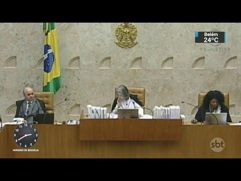 Revisão da prisão em segunda instância continua parada no STF | SBT Notícias (21/03/18)