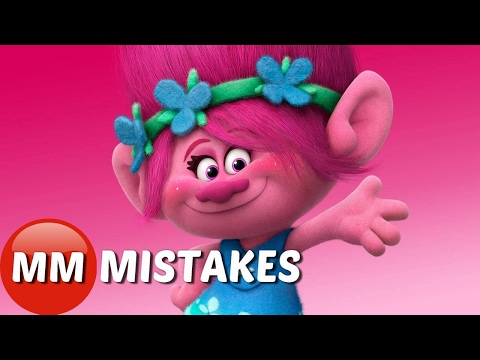 10 Trolls Movie Mistakes You Didn't Notice...
