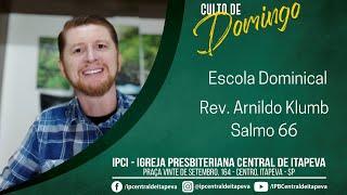 Escola Dominical - Salmo 66