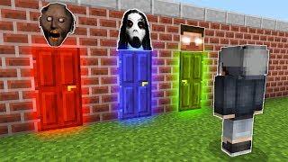 YANLIŞ RENKLİ KAPIYI SEÇERSEN ÖLÜRSÜN! 😱 - Minecraft