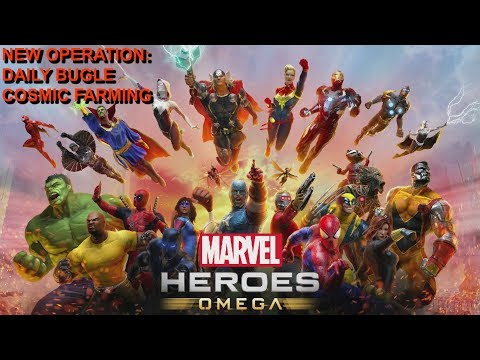 Marvel Heroes Omega PS4 DAILY BUGLE COSMIC FARMING