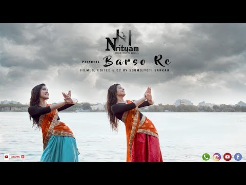 Barso Re Dance Cover  Guru  Shreya Ghoshal  Nrityam
