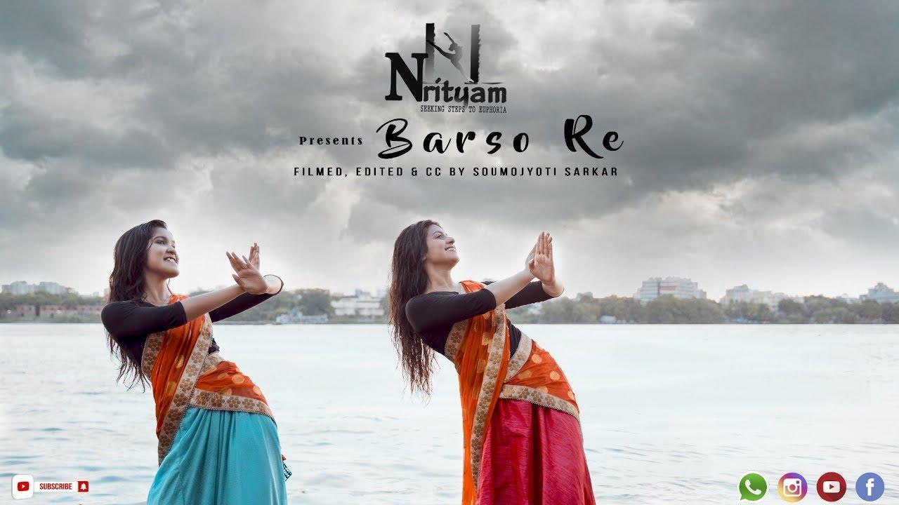 BARSO RE DANCE COVER | GURU | SHREYA GHOSHAL | NRITYAM