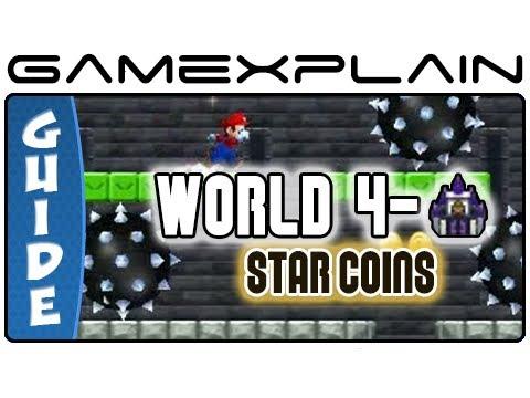 Super mario bros star coins 7-mid castle / Rhea coin