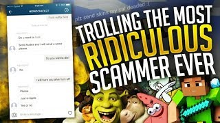 Trolling the MOST RIDICULOUS Western Union Scammer on the Internet. thumbnail