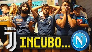 INCUBO... JUVENTUS 4-3 NAPOLI | REACTION NAPOLETANI LIVE HD