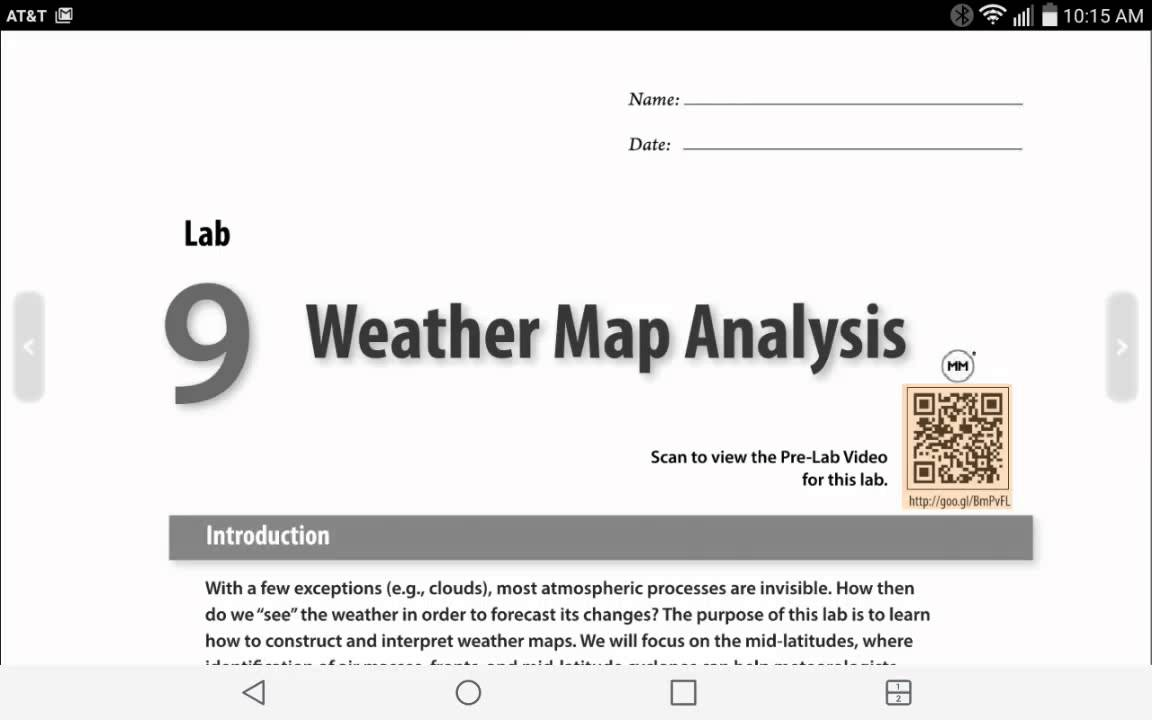 isotherm and isobar maps lab answer key