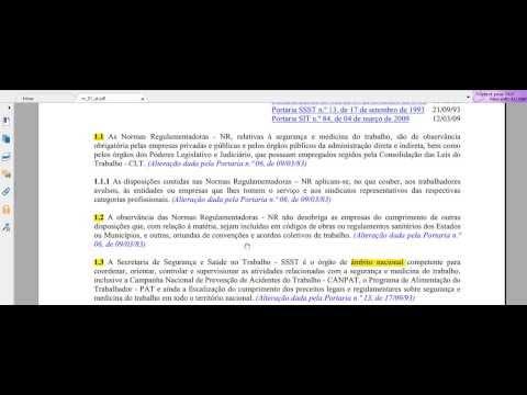 NR-1 Disposições Gerais