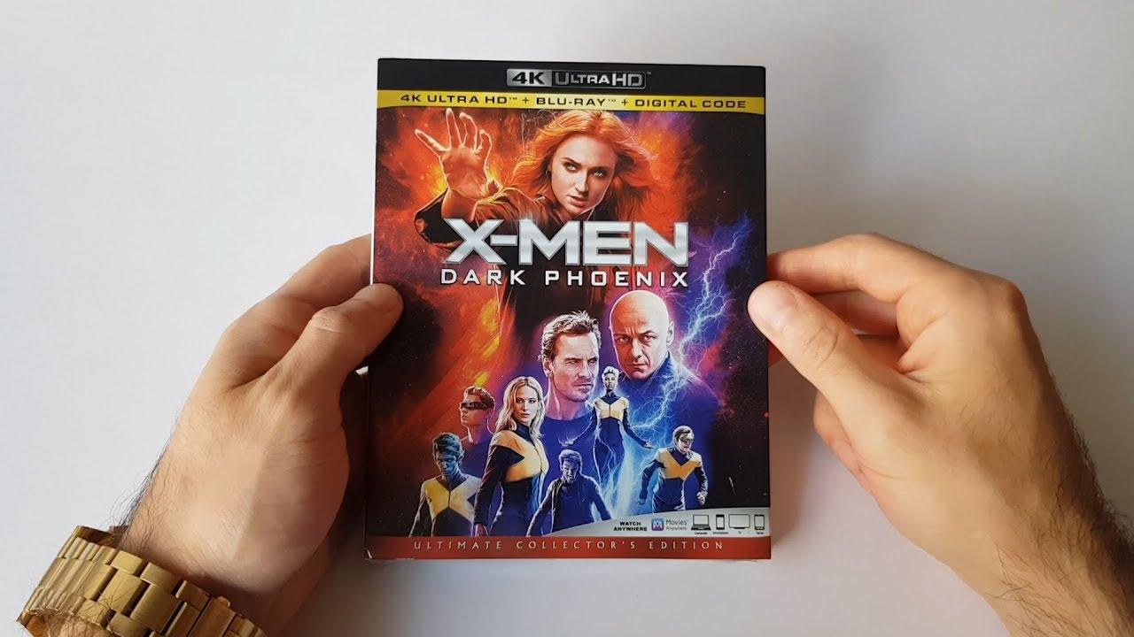 x men dark phoenix blu ray release date