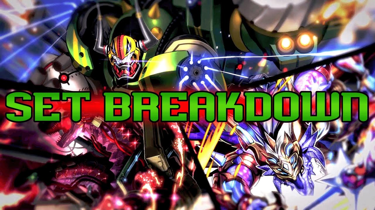 Cardfight!! Vanguard: G Technical Booster 01 Set Breakdown (The Reckless Rampage)