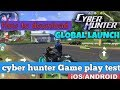 how to download cyber hunter on android || game play by MT ONLINE TIPS