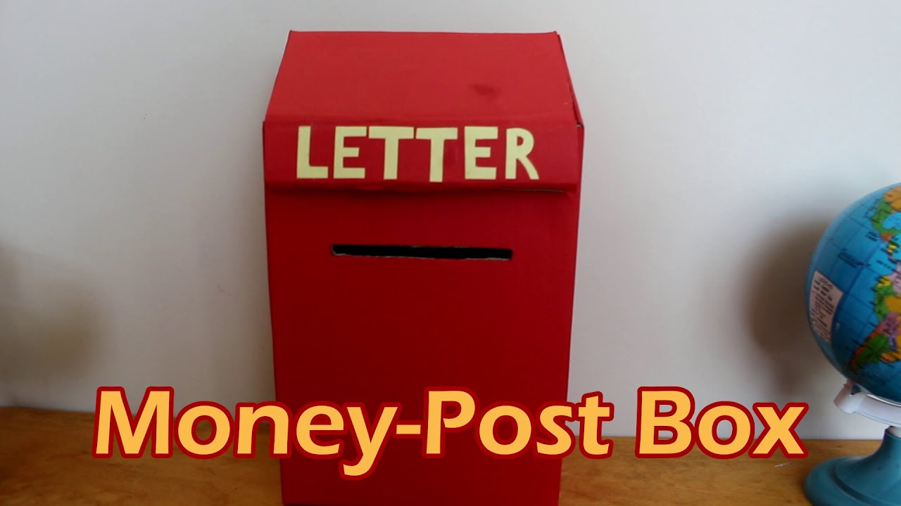 Money post box the diy channel youtube for Diy to make money