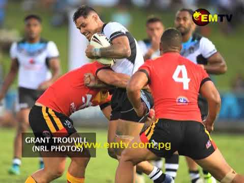 PNG Kumuls Raring after Tri-Series Matches in Rugby League World Cup 2017