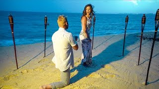 Super Secret SURPRISE Proposal on the Beach!!