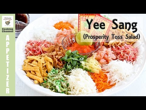 Yee Sang (Prosperity Toss Salad) | Malaysian Chinese Kitchen