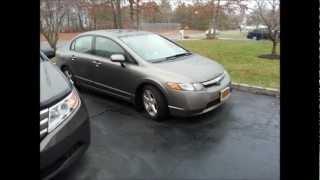 2007 Honda Civic EX Start up, Rev & Driving