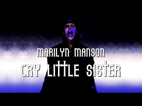 Marilyn Manson - Cry little sister lyric video