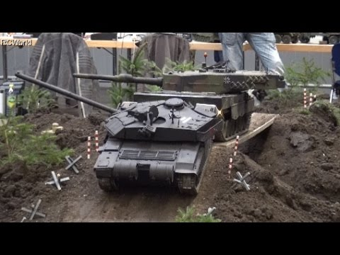 1 8 rc tank leopard 2 panzer bundeswehr erlebniswelt. Black Bedroom Furniture Sets. Home Design Ideas