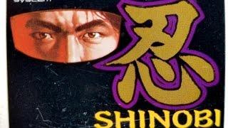 Classic Game Room - SHINOBI review for PC-Engine