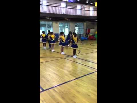 Chargers are we governor Morehead school for the blind cheerleaders2015-2016 pep rally
