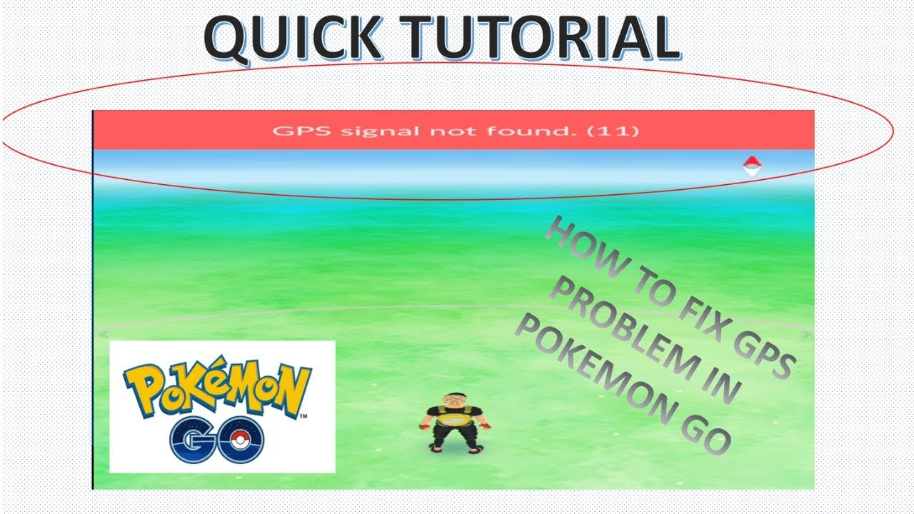 (1/2) how to fix gps signal not found (11) problem in pokemon go | part 1