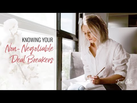 Knowing Your Non-Negotiable Deal Breakers from YouTube · Duration:  20 minutes 35 seconds