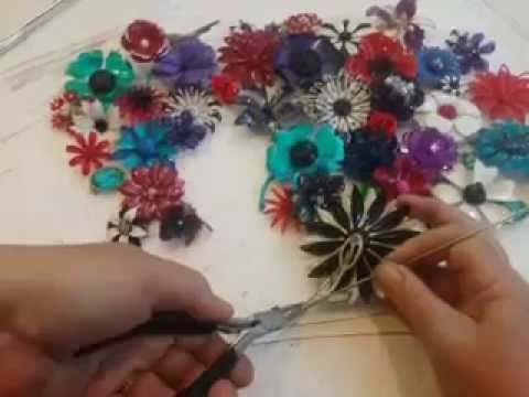 Diy Brooch Bouquet How To