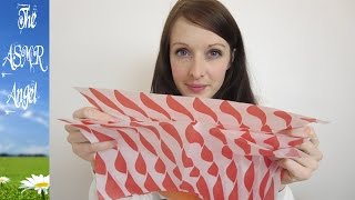 6 Minute ASMR Sounds - Wax Paper
