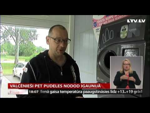 Valcēnieši PET pudeles nodod Igaunijā