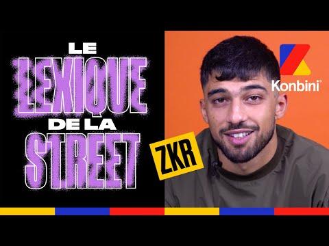 Youtube: ZKR:«« Cheucheu» c'est quand je suis pas content» l Le Lexique de la Street l Konbini