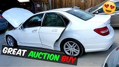 BOUGHT MERCEDES FROM COPART CAR AUCTION GREAT FIND