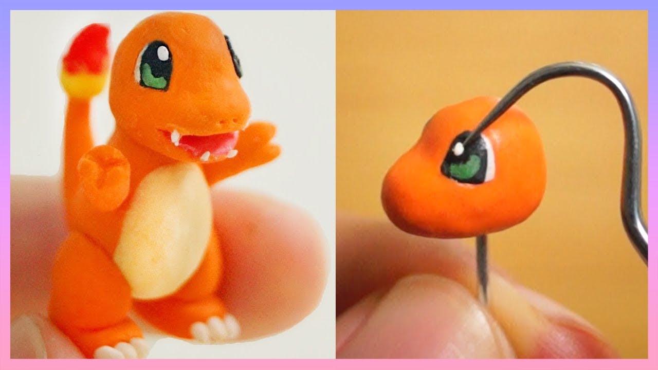 Pokemon Charmander Polymer Clay Figure Tutorial