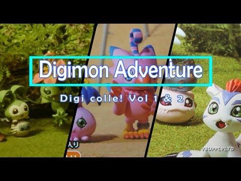 Digimon Adventure Digi Colle! Vol 1 & Vol 2 Product Review