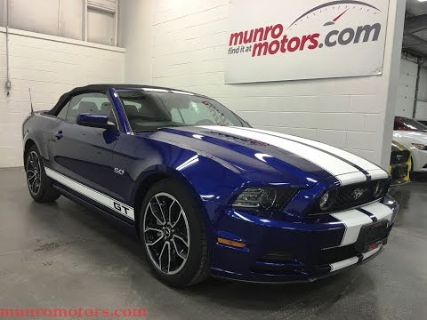 """2014 Ford Mustang SOLD GT Flowmaster 6 Spd Manual SYNC 19"""" Wheels"""