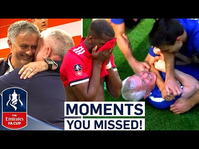 Old Friends, Triumph and Despair! | Moments You Missed | Emirates FA Cup Final 17/18