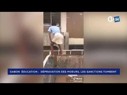 GABON - DÉPRAVATION DES MOEURS, LES SANCTIONS TOMBENT