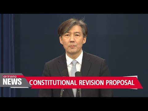 PART3:  Blue House submitting constitutional revision proposal today: What are the changes?