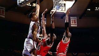 HD John Starks Best Dunk: Over Michael Jordan and Horace Grant