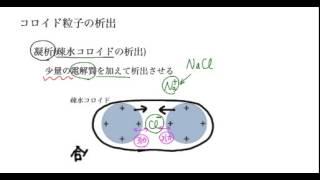 「コロイド溶液の性質」講義6:高校化学解説講義