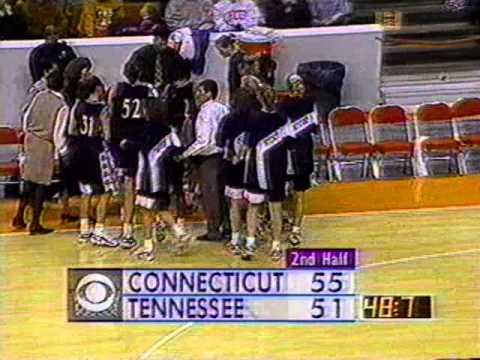 1996 Regular Season Tennessee vs  Connecticut