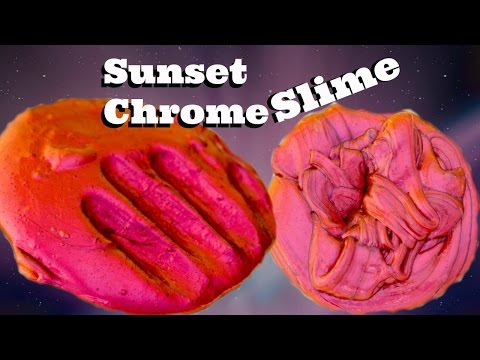 sunset-slime-(make-it-monday)-duochrome-slime-series