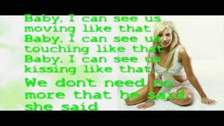 Ashley tisdale he said she said (Lyrics/Songtext)