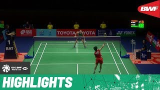 PRINCESS SIRIVANNAVARI Thailand Masters 2020 | Semifinals WS Highlights | BWF 2020