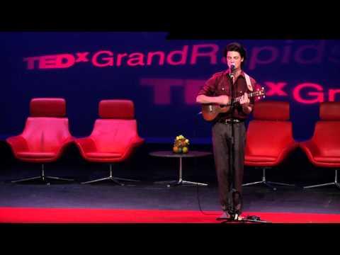 TEDxGrandRapids - Musical Performance - Garrett Borns