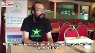 Intervujo: Vinko Markovo, prezidanto de la plenum-komitato de SAT