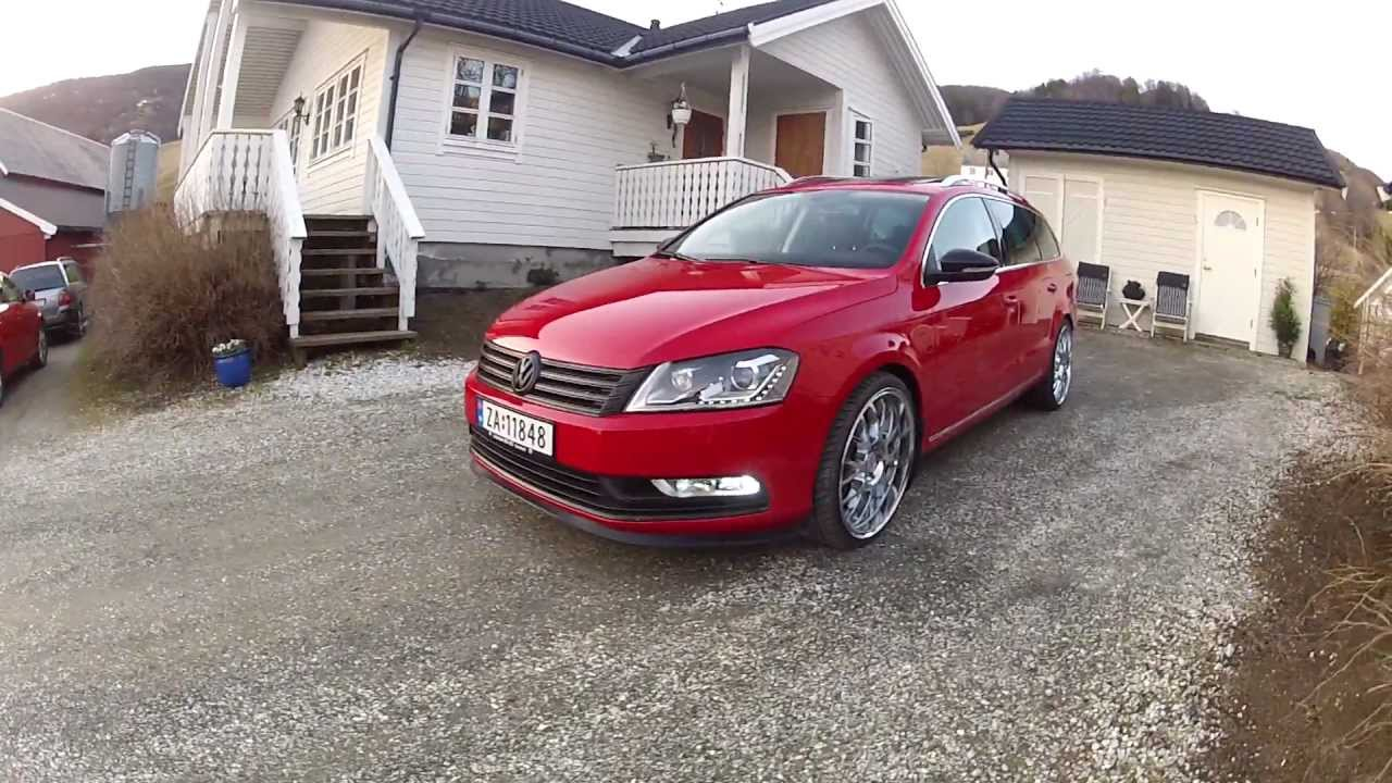 vw passat 2012 wagon b7 tornadored with 9 20 youtube. Black Bedroom Furniture Sets. Home Design Ideas