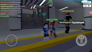 TRAIN WHERE ARE YOU! ROBLOX The Plaza