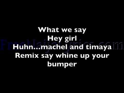Lyrics: Timaya - Bum Bum (Soca Remix) ft. Machel Montano | FreeNaijaLyrics.com